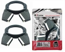 Pack 2 Cavo Scart AA Connessioni A/V 100 cm 22780
