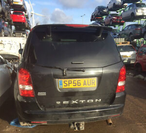 FOR BREAKING ONLY, SSANGYONG REXTON 2007