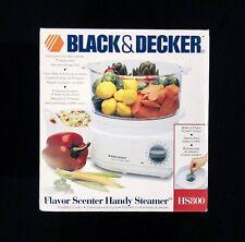 New | Black & Decker Hs800 Flavor Scenter Handy Steamer Rice Cooker - White