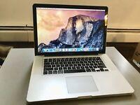 """Apple MacBook Pro A1286 15.4"""" Laptop - MC373LL/A (April, 2010) Needs repair"""