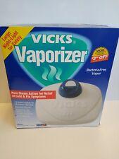 Vicks Vaporizer By Kaz With Night Light 1.5 Gal Auto Shutoff Relieves Cold Flu