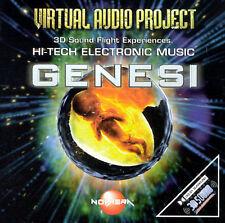CYBERTRACKS - VIRTUAL AUDIO PROJECT: GENESI USED - VERY GOOD CD