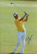 Soren KJELDSEN SIGNED Autograph 12x8 Photo AFTAL COA VOLVO Masters WINNER Golf