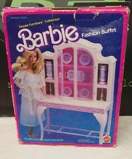 Barbie Fashion Buffet Mattel Original w/Box 80's Complete Set