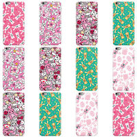 DYEFOR RABBIT PRINT COLLECTION HARD CASE COVER FOR APPLE IPHONE MOBILE PHONES