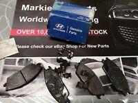 Hyundai Getz Brake Pad Set Rear Pads Genuine Hyundai 581011CA10