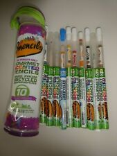 COLOURED SMENCILS 10 PRE OWNED BUT IN GREAT CONDITION GOURMET SCENTED PENCILS