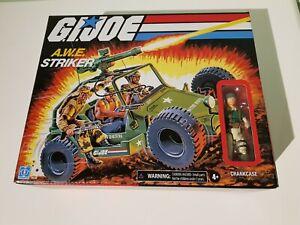 GI Joe Retro A.W.E. Striker with Crankcase 3.75 Inch Hasbro New