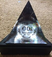 Dr. Pepper Company 100th anniversary Etched Crystal Pyramid by Tiffany & Co.