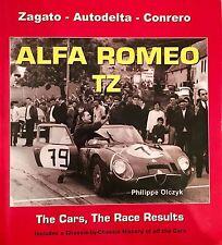 Livre ALFA ROMEO TZ book Zagato-Autodelta-Conrero by Philippe Olczyk
