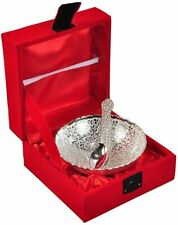 German Silver Bowl With Spoon beautiful precious gift