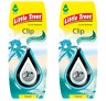 2 x CLIP Little Magic Tree Car Air Freshener TROPICAL coconut/pineapple Freshner