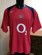 Nike 90 Sphere Dry Arsenal Home Soccer Football Red Jersey Shirt 02 Sz XL.