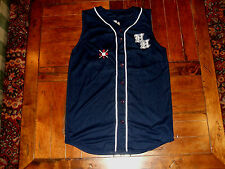 HH GBLC Cooperstown NY Dreams Park #28 Blue Baseball Jersey Vest Button Front