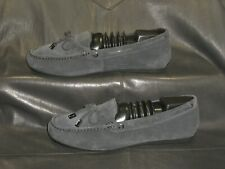 Michael Kors Sutton Moc women's gray suede driving loafer shoes size US 8.5M