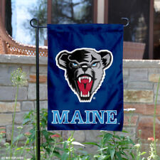 Maine Black Bears Garden Flag and Yard Banner