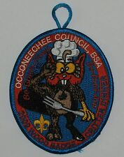 Occoneechee Council (NC) 2009 Wood Badge Critter Dinner Pocket Patch  BSA