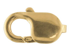 9ct gold 18mm trigger clasp lobster clasp lobster claw gold jewellery fastener