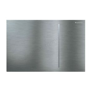 SIGMA70 Dual Flush Plate for 120mm Cistern Brushed Stainless GB.115.620.FW.1
