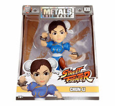 "JADA 4"" METALS STREET FIGHTER CHUN-LI M308 DIECAST ACTION FIGURE 98064"