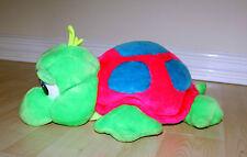 NEON luminosi Peluche tartaruga baby rosa blu verde GREAT American Giocattolo Peluche