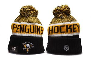 Pittsburgh Penguins New Era Beanie NHL Hat Cap Knit Adult Size