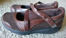 Skechers Shape Ups, Brown Suede & Leather, Size 8M.  Worn 2 Times!