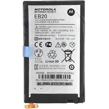 ORIGINALE Motorola eb20 batteria Batteria cellulare -- RAZR xt910 snn5899b -- nuovo