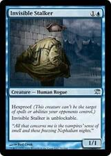 INVISIBLE STALKER Innistrad MTG Blue Creature—Human Rogue Unc