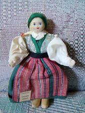 Charlotte Weibull Swedish vintage costume doll - Bara Skane Sweden