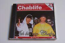 CHABLIFE (KAY ONE & JAYSUS) - ICH BIN EIN CHABO CD 2004 (ROYAL BUNKER) NEU & OVP