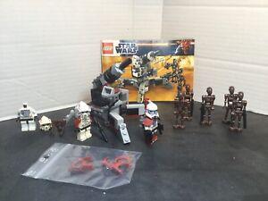 Lego 9488 Star Wars Elite Clone Trooper & Commando Droid Battle Pack