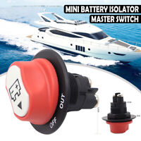 200A Battery Isolator Disconnecter Power Cut Off Kill Switch Marine Auto Boat