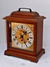 FINE HAMILTON U.S.A 340-020 WESTMINSTER CHIME 8 DAY BRACKET CLOCK WORKING W/ KEY