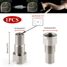 M18 x 1.5 Car O2 Oxygen Spacer Sensor Extension Dual Fitment Remove Fault Code