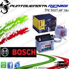 BATTERIA BOSCH YB4-LB CON ACIDO SCOOTER 50cc 2T