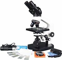 Radical 1500x Medical LED battery Cordless Binocular Vet Medical Microscope w...