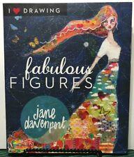 Fabulous Figures Jane Davenport I Love Drawing Get Creative 6 FREE SHIPPING JB