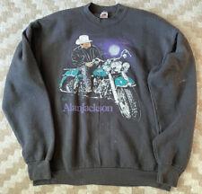 Vintage 1992 Alan Jackson A Lot About Livin' Harley XL Crewneck Sweatshirt
