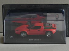MASERATI BORA GROUP 4   1974 IN RED, magazines part works.(HD34)