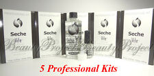 (5 Kits) Seche Vite Dry Fast Top Coat Professional Kit 0.5oz & 4oz New With Box!