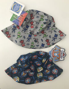 PAW PATROL and PJMASKS Preschool Sun Hats
