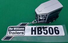 Ifor Williams Single Horsebox Horse Trailer Hb506 Rear Bubble Decal Sticker
