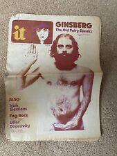 More details for international times number 148 23 feb-8 march 1973. allen ginsberg