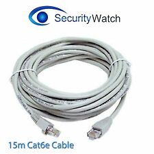 15m Meter 4 Pair UTP RJ45 CAT6E Patch Lead Network LAN Ethernet Cable#110