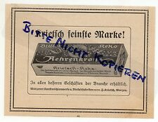Wurzen, advertising 1913, Art Mills works-Biscuit-factories F. krietsch Butter Cookie
