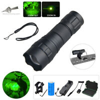 Tactical Zoomable LED Flashlight Hog Pig Coyote Varmint Hunting Torch Mini Lamp