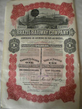 Transport/Railroad Share Certificates & Bonds