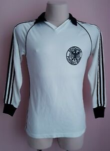 West Germany1980 Home football Erima long sleeve Jersey size M