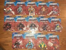 Masters Of The Universe Eternia Minis Lot of 14 Figures-NIP Anti, Mer-man,He-Man